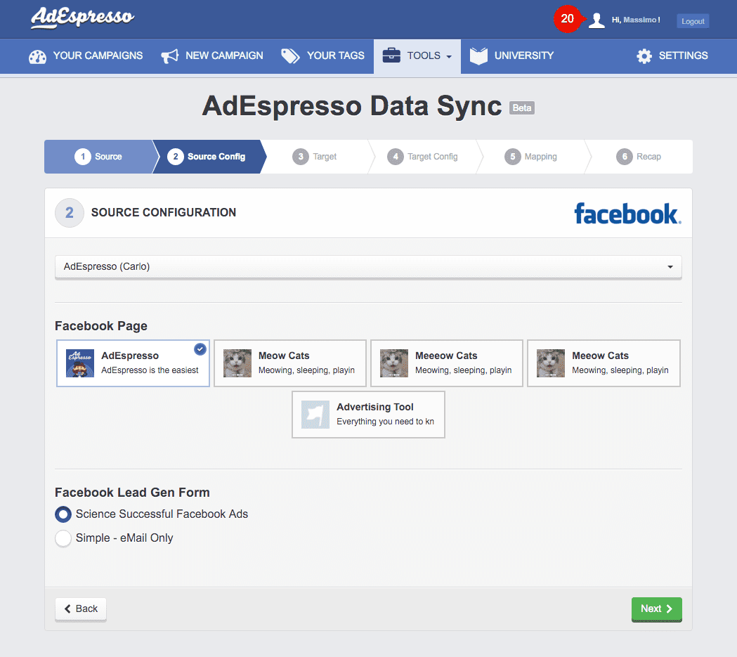 Sync Tool - Lead Ads