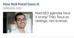 Neil Patel Facebook Ads