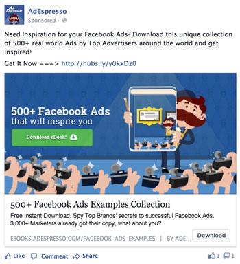 Facebook Ad Design Illustration