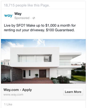 trustworthy facebook ad