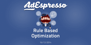 Introduction to Rule Based Facebook Ads Optimization