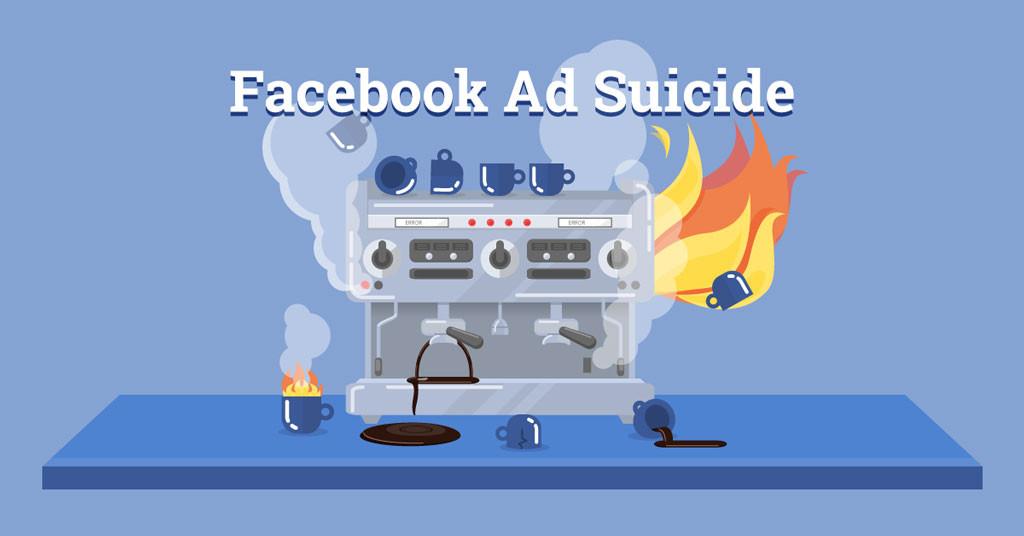 facebook ad suicide