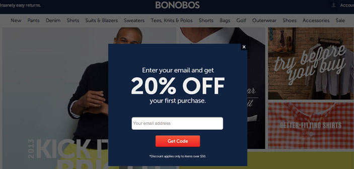 bonobos discount lead