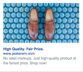 ecommerce facebook ad