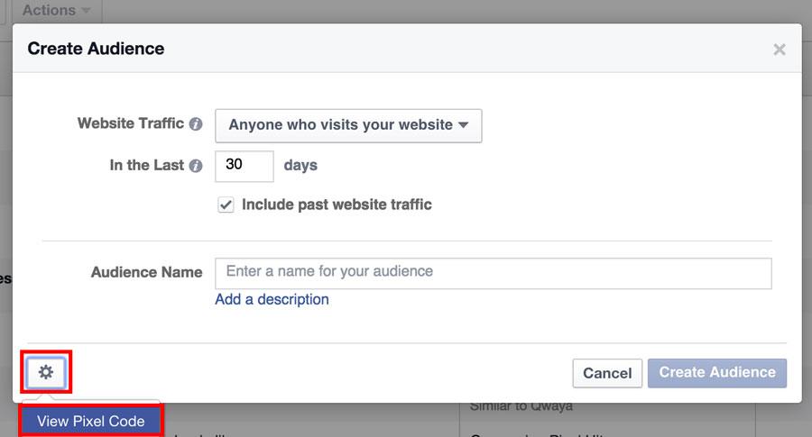 Facebook Ad Retargeting Pixel