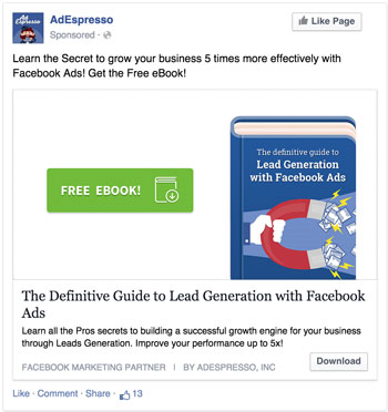 Facebook Ad Clean