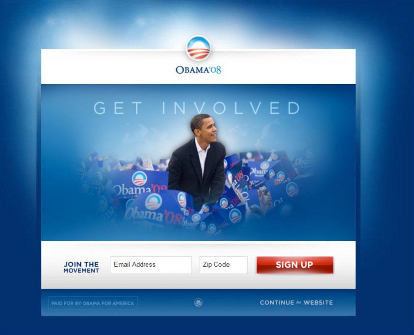 Obama Split Test 2