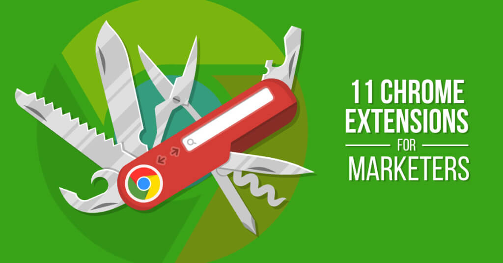 Marketers Chrome Extensions Illustration