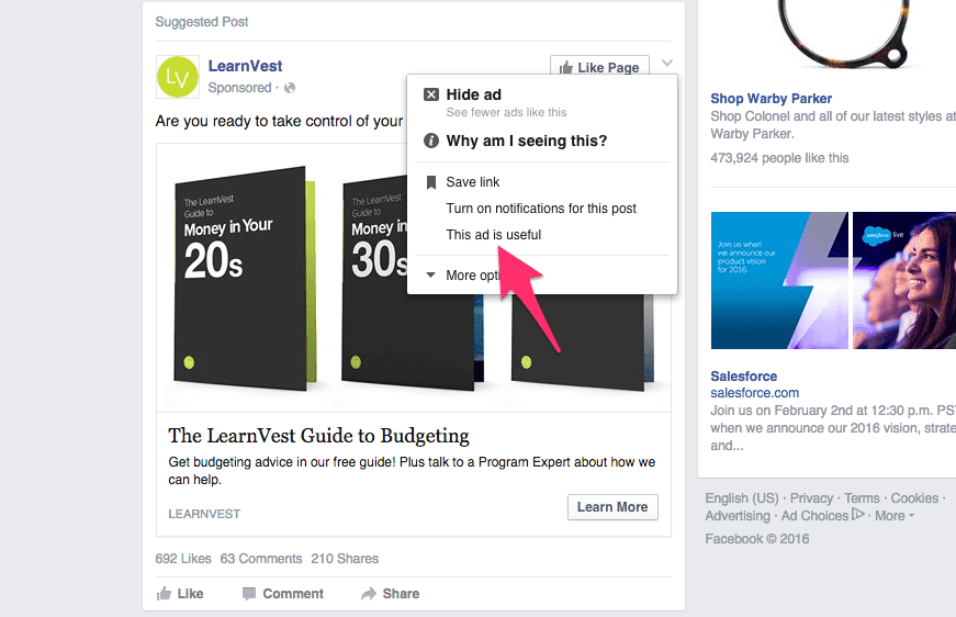 LearnVest Ad