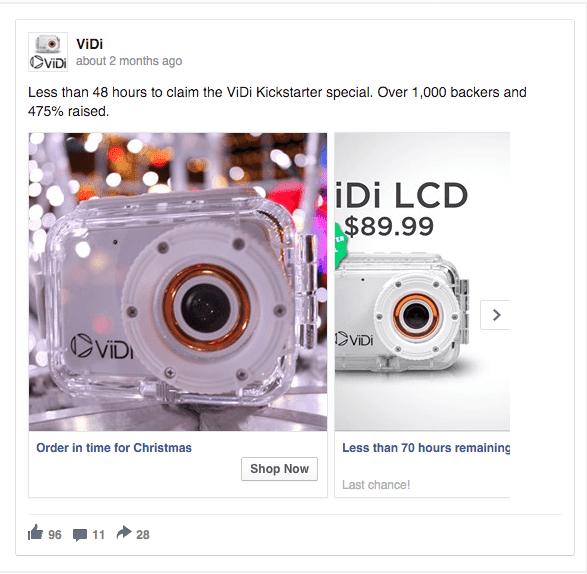 VIDI Kickstarter Ad