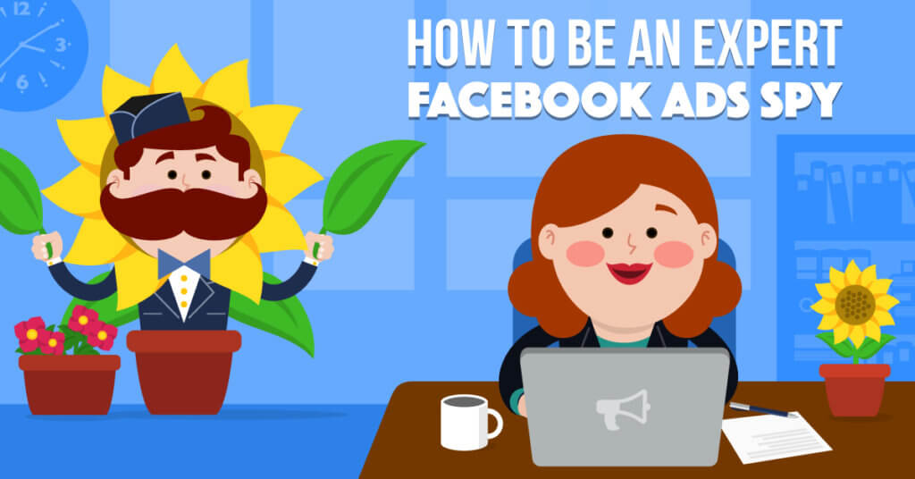 How to be an expert fb spy - Illustration