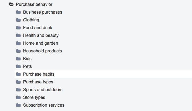 Behavioral targeting purchase behavior2