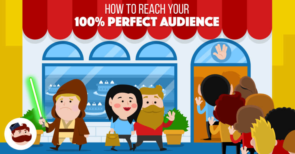 How to Use Facebook Behavioral Targeting to Reach Your 100% Perfect Audience - Illustration