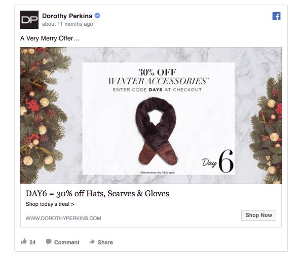 dorothy-perkins-holiday-ad