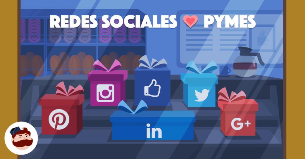 ¿Por qué son ideales las redes sociales para empresas pequeñas y medianas? - Illustration