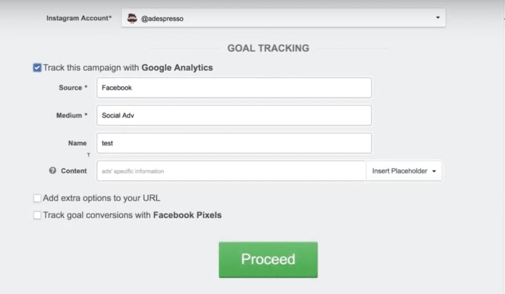 facebook ads google analytics