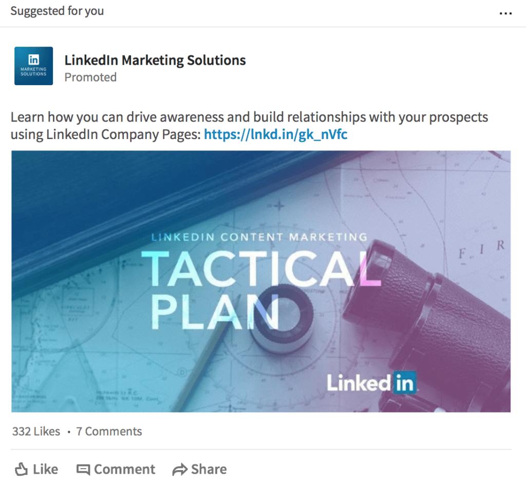 how to create LinkedIn Ads