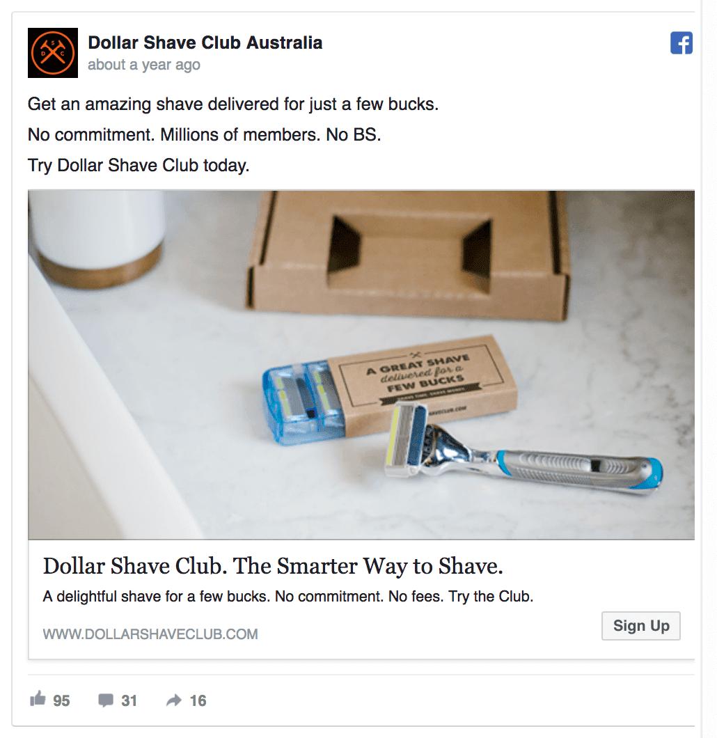 dollar shave club ad