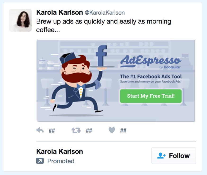 adespresso ad example