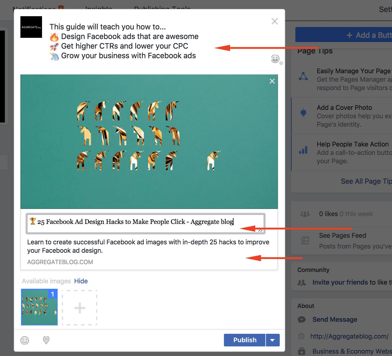 emojis in facebook ads