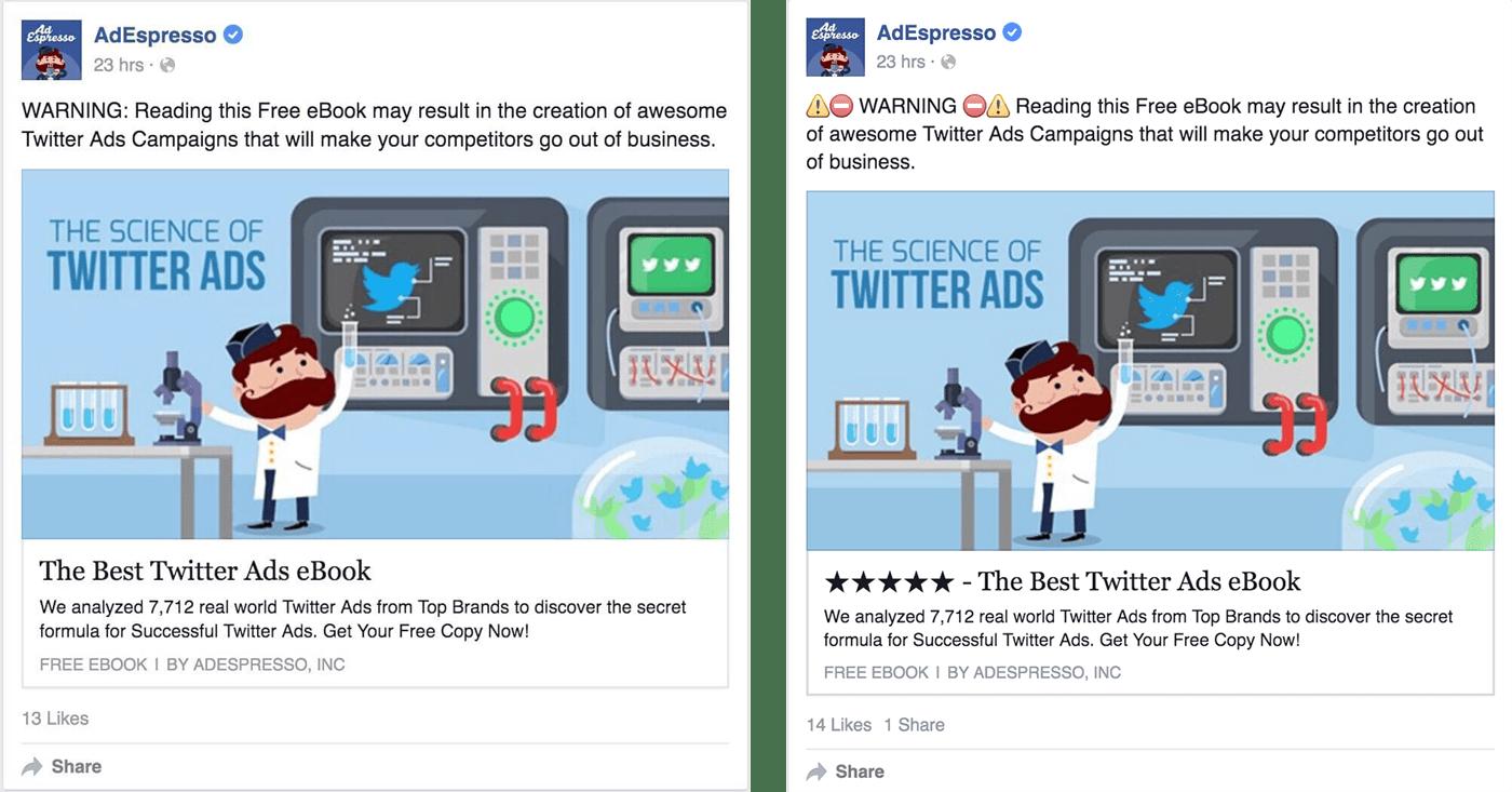 facebook emoji marketing