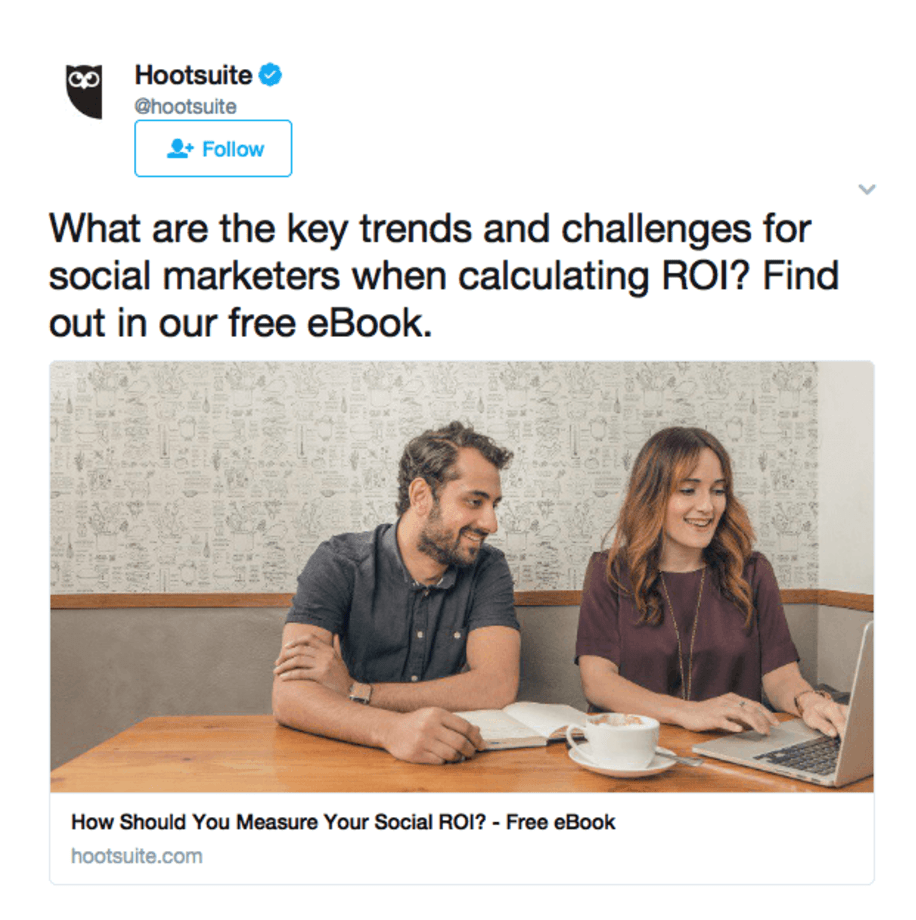 hootsuite twitter ad