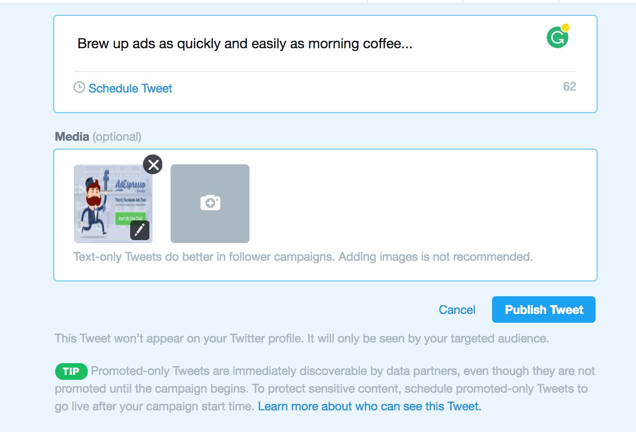 set up twitter ads