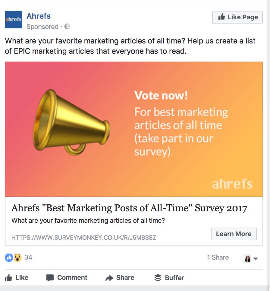 ahrefs survey