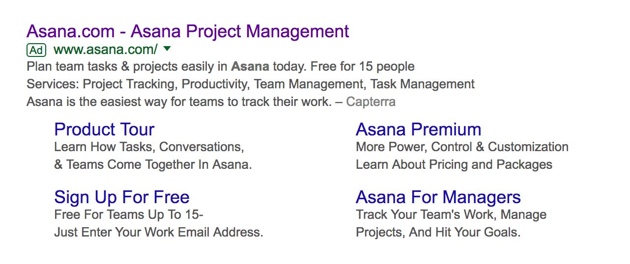 asana google ad