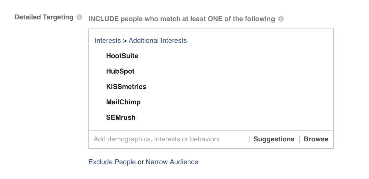 target competitors' fans