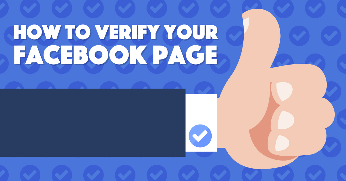 How To Verify Your Facebook Page Step By Step