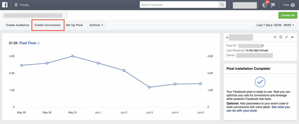 how facebook pixel tracks events