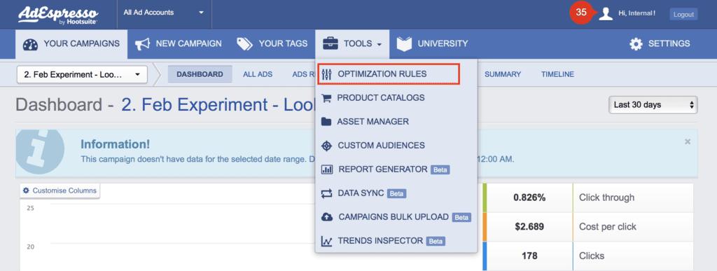 facebook optimization ads
