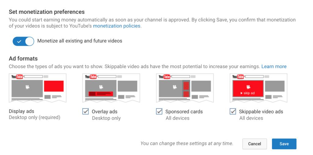 monetize YouTube ; guide to YouTube marketing