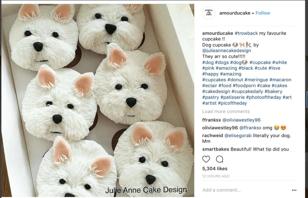 yorkie cupcakes