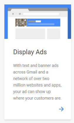 display ads on google