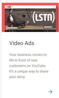 video ads on google