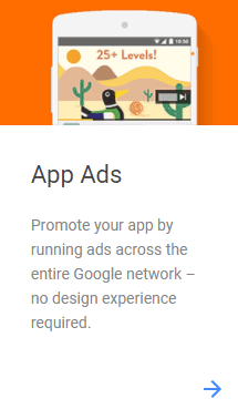 app ads on google