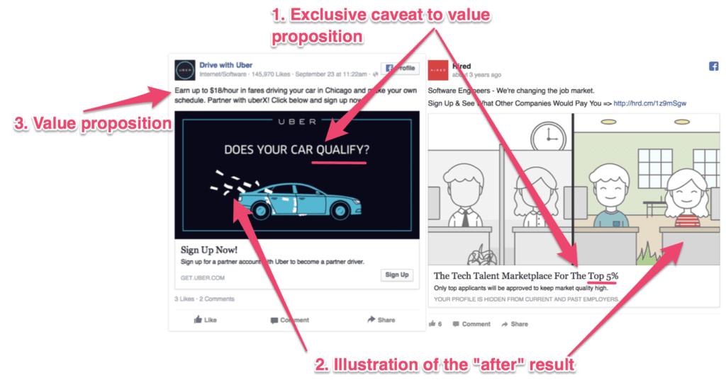design of a facebook ad