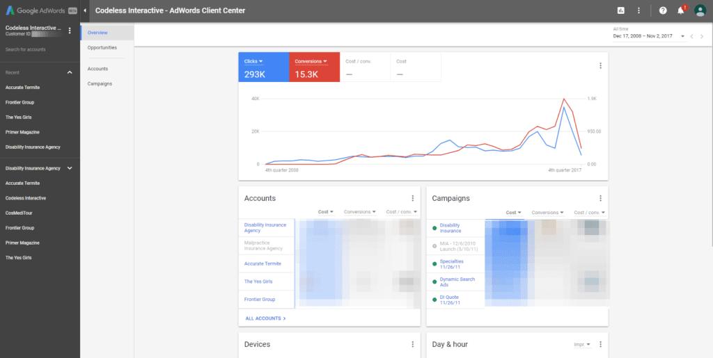 Google AdWords latest updates