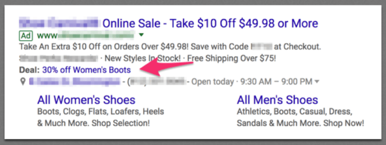 Google AdWords latest updates feature showcase