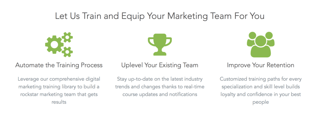 Digital Marketer course screenshot
