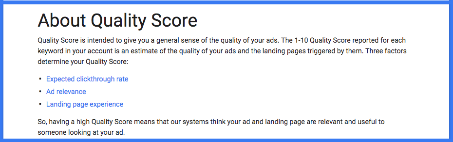 All About AdWords Quality Score—And How to Improve It Fast