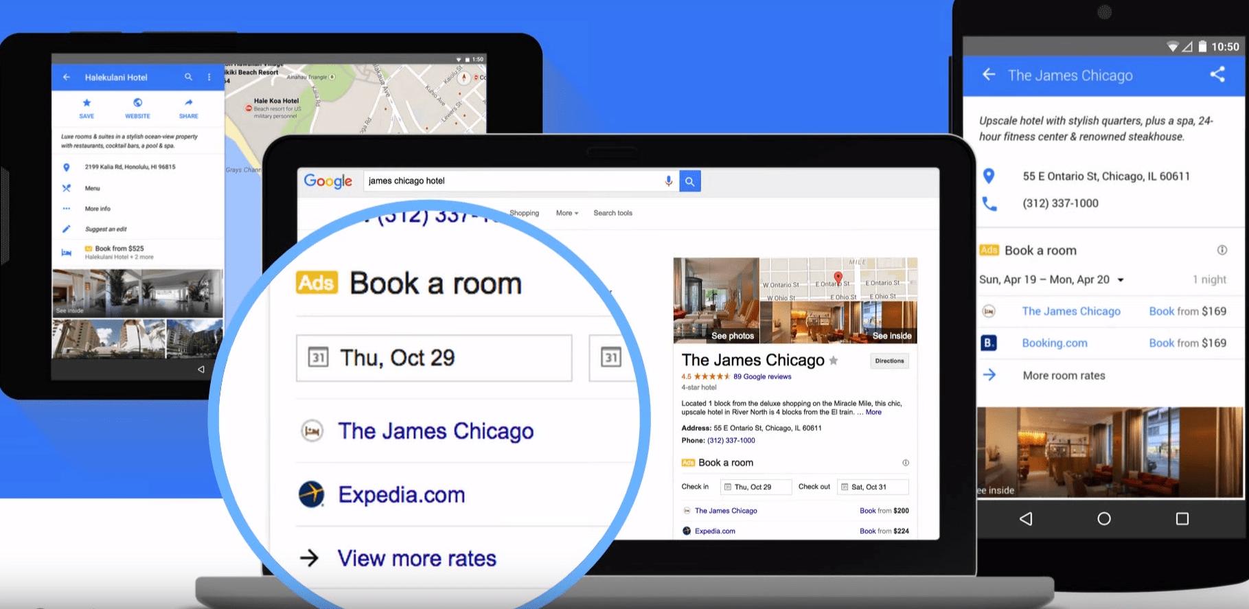 Google Hotel Ads - booking