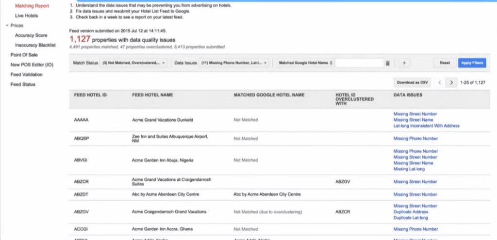 Google Hotel Ads - tools