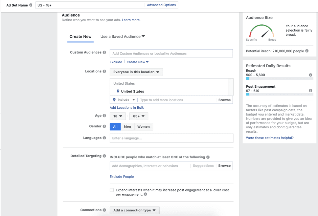 facebook ads manager boost post