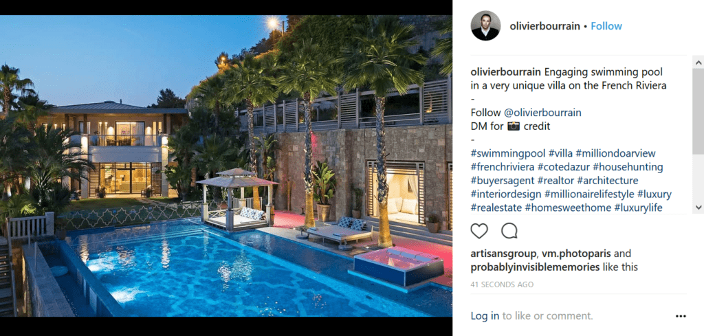 LuxuryLife Instagram Real Estate