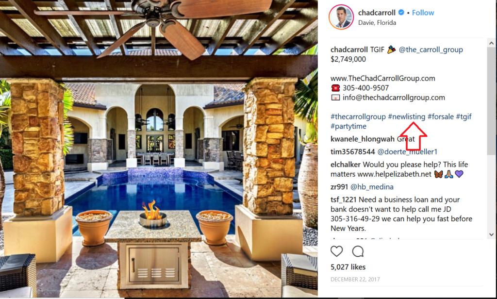 New Listing Real Estate Instagram