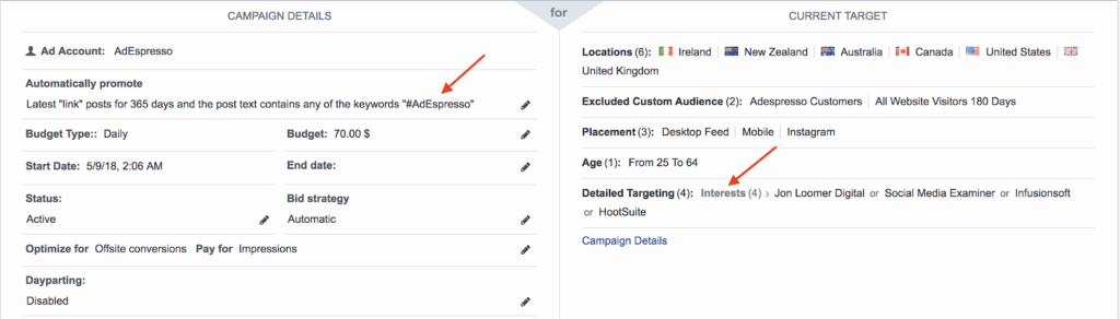 facebook boosting use of social media interests to reach people interested in Facebook advertising