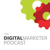 The DigitalMarketer Podcast corporate logo.